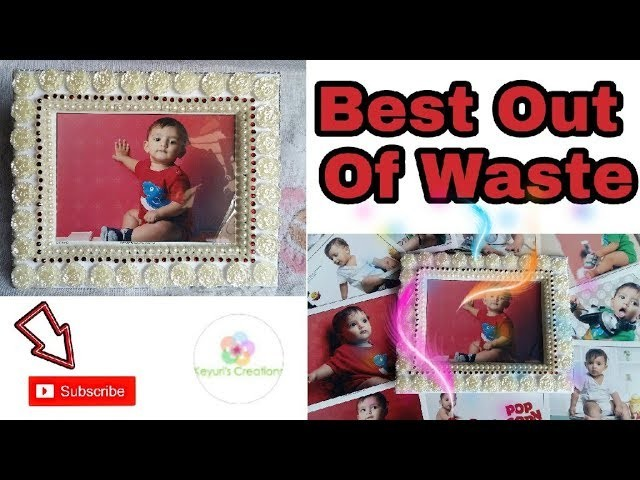70 kids craft idea best out of watse photo frame for Craftsman frame
