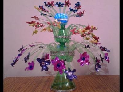 Best Craft Idea Out Of Waste Plastic Bottles Ll DIY Art
