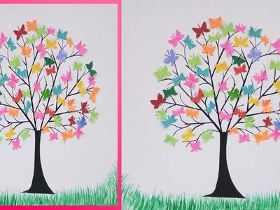 DIY Beautiful Butterfly wall hanging !!! DIY Wall Decor!! DIY Wall Hanging !! Craft ideas !! Crafts