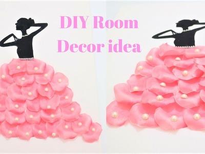 DIY Room Decor ideas~Beautiful petals craft~canvas wall art diy