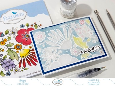 Faux Parchment Craft using Heat Embossing & Stamping