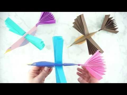 How to Make a Paper Bird Craft