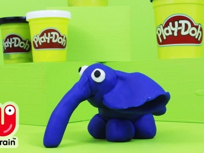 PLAY DOH | Make your own Elephant | Craft for kids | Crafty Kids