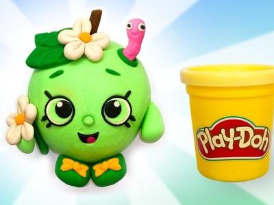 Play Doh Kawaii Toy. Making Funny Cartoon Apple DIY Tutorial for Kids. Learn Colors. Education Kid