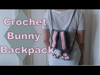 Crochet bunny backpack | Tutorial DIY