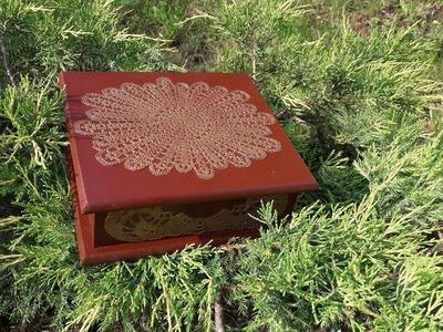 Decoupage box-Fast & Easy tutorial DIY