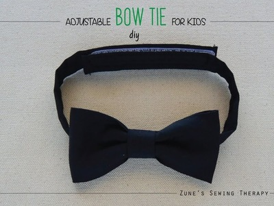 DIY Adjustable Bow Tie for Kids
