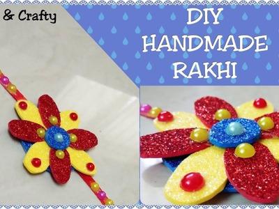 How to make Rakhi at Home#Rakhi Design Idea#Handmade Rakhi#Bracelet Rakhi#DIY-Lastest Handmade Rakhi