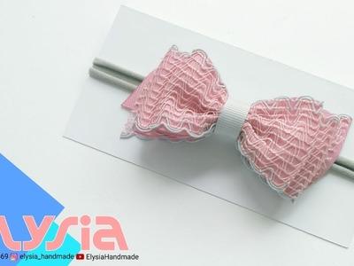 Laço Simple 3 Layer ???? Ribbon Bow ???? DIY by Elysia Handmade
