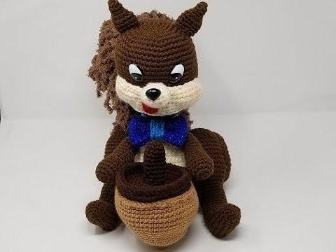 Crochet Squirrel, Skunk, and Cat Part 3 of 5 DIY Video Tutorial
