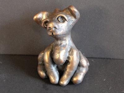 DIY Dog In Polymer Clay