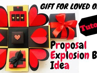 DIY Explosion Box Tutorial | Explosion Box Card | DIY Crafts