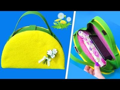 DIY.BAG SO CUTE.NO SEW TUTORIAL.Hand made.Tutorial&crafts.Handmade.My creative ideas.