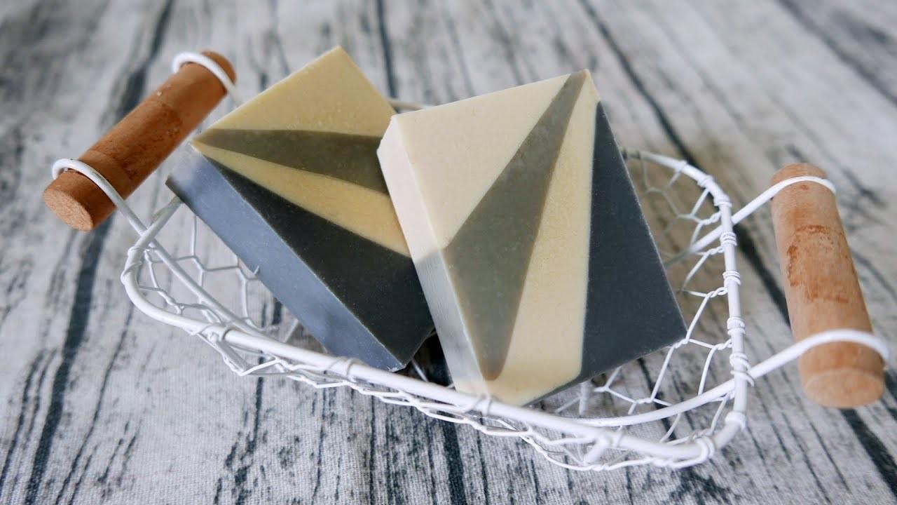 放射分層母乳皂DIY - radial orientation layered handmade soap tutorial - 手工皂