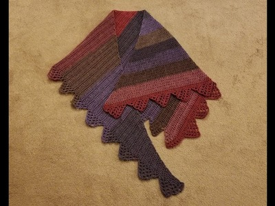 "Part 1 - The ""Case in Point"" Shawl Crochet Tutorial!"