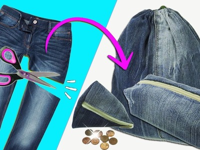 3 Great Ideas with Jeans - Ecobrisa DIY