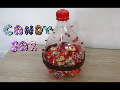 Candy Jar from Plastic Bottle - DIY #2