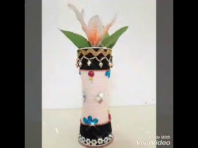 Plastic Diy Best Out Of Waste Flower Vase Diy Best Out Of Waste
