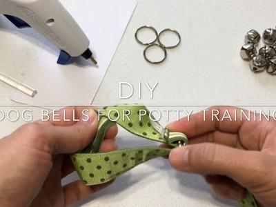 DIY Dog Bells For Potty Training