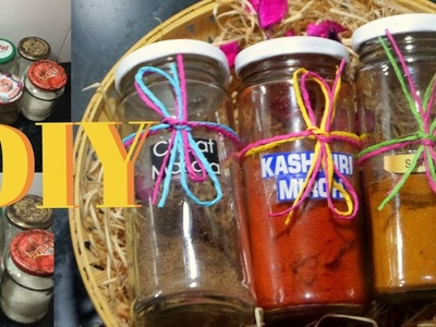 DIY | How to Make Spice container | Gift Idea for Mother's Day | Shresth Kitchen