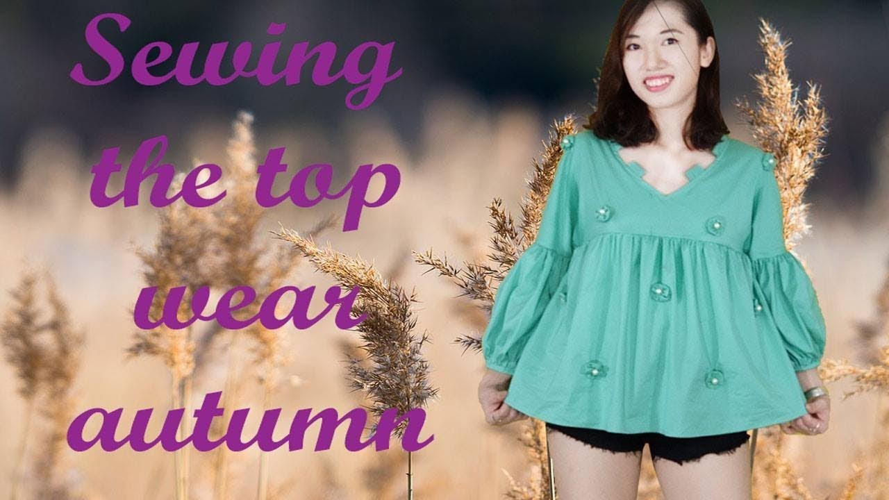 DIY how to sewing the top wear autumn with Zoe DIY