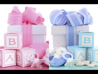 DIY - Learn to Make Gift for Baby Birthday || Baby Shower || Birth Announcement || Kids Party Favor