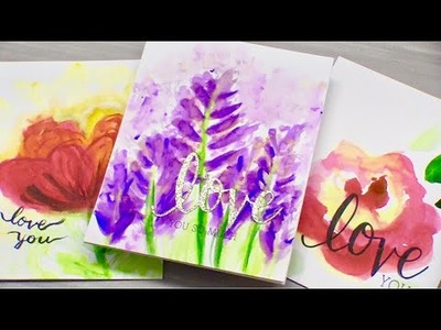 DIY Watercolor Mother's Day Cards | LIVE Chat!
