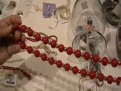 Goodwill Jewelry Jar Unjarring Red Tag Part 1