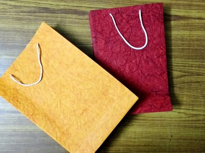 ????HOW TO MAKE A HANDMADE BAG FOR EVERY GIFTS????