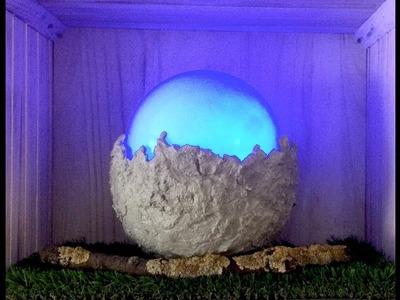 How to make DIY, Decoration, Lighting - Blue Moon Lamp