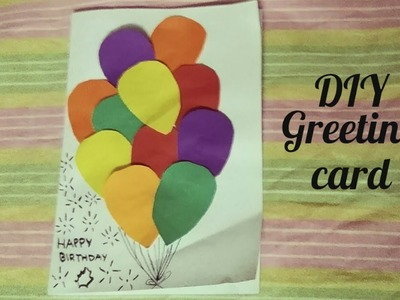 Birthday diy birthday cards for friends handmade cards for best how to make greeting card for birthday cute diy balloons m4hsunfo