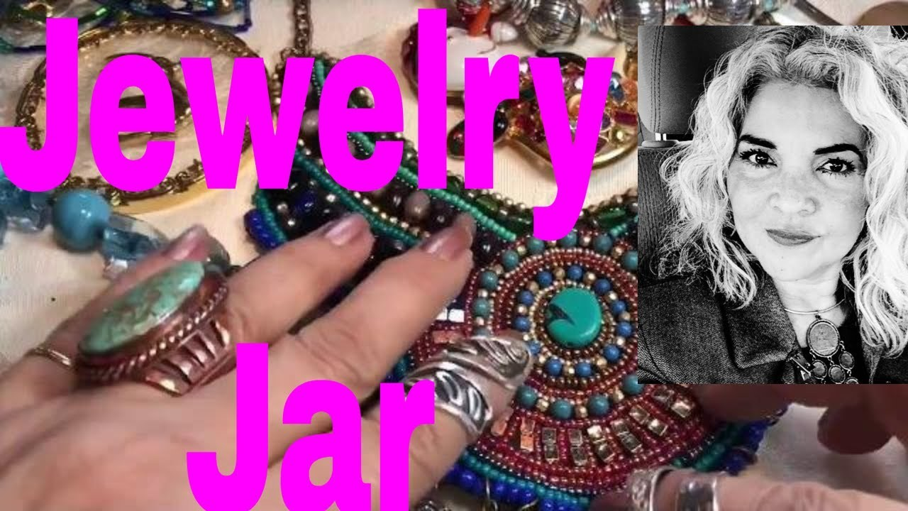 Jewelry Jar Unboxing Mystery Bags Of Jewelry Gems To Keep & Sell
