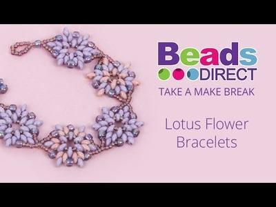 Lotus Flower Bracelet   Take a Make Break with Beads Direct
