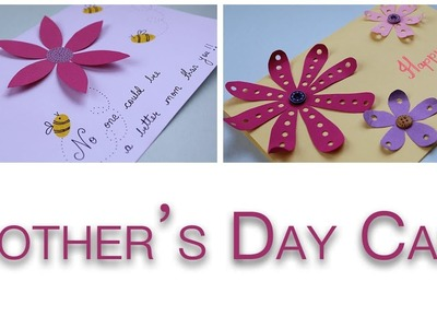 Mothers Day Cards Handmade Easy   Simple and Cute