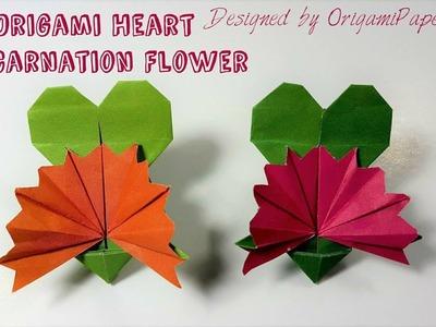 Heart Making Of Origami Beating Heart By Jaiswin Kamra Making Of