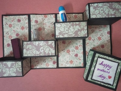 Tower gift box tutorial for mothers day | handmade birthday card | mothers day cards