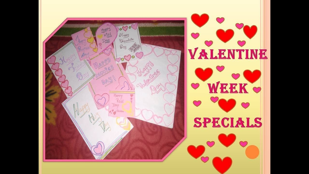 How Valentine Day Cards Valentines Week Specials 8 Handmade