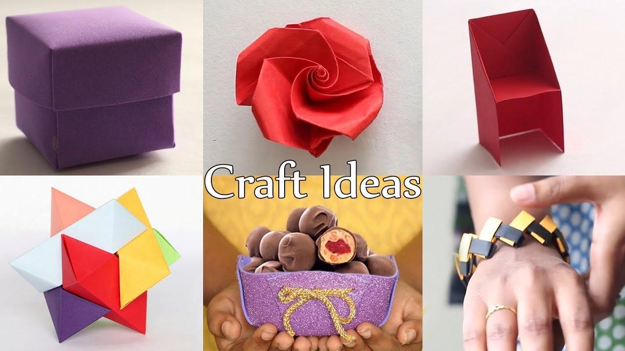 6 Best Crafts | DIY Craft Ideas | Ventuno Art