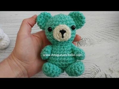 Crochet Your Own Mini Bear Part 5 Assembly
