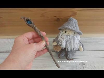 How I Made A Miniature Wizard Staff No Clay