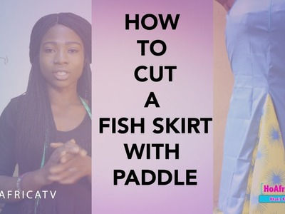 How To Cut A Fish Skirt With Paddle