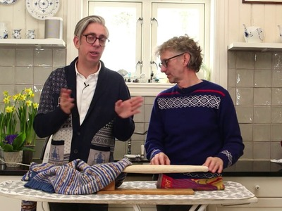 How to give your knitted garments the PERFECT finish by ARNE & CARLOS