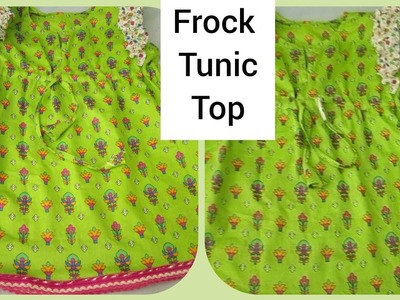 How to make baby top frock easy to cutting and stitching full tutorial