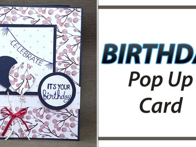 DIY Birthday Greeting Card - Learn how to make handmade birthday card by simple steps.