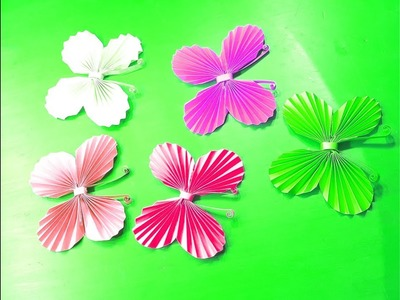 Easy origami butterflies for beginners making - How to make a paper butterfly - Origami butterfly