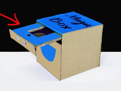 How to Make a Coin Bank Box for Kids