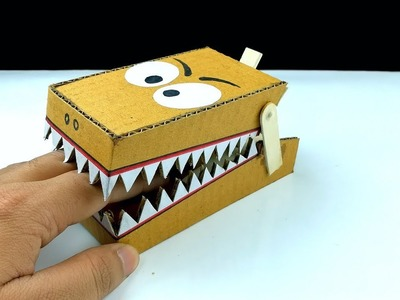 How to make a DIY simple Rat Trap from cardboard at home || New Idea