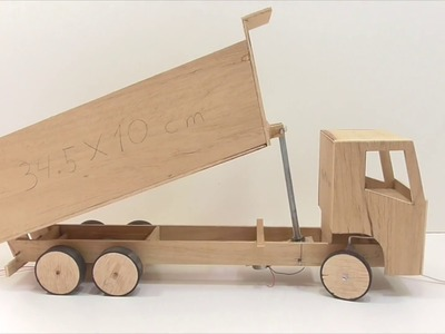 How to make a dump truck at home