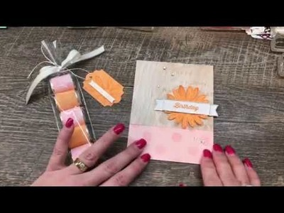 How to make a Match Book Card plus a matching Nugget Treat Bag