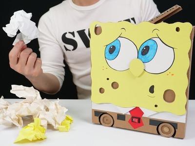 How to Make Amazing RC Trash Can - Spongebob
